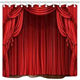 Dana34Malory cortina de ducha clásica para...