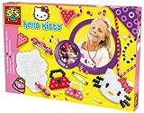 SES creative 14756 - Hello Kitty Bügelperlenset Schmuck mit Klemmen, 1500 Stück