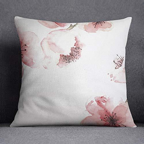 Bonamaison, fundas de almohadones decorativos, Funda de cojín, Poliéster y algodón, 45X45 cm - diseñado y fabricado en Turquía TREYS100063
