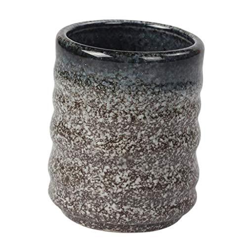 MagiDeal Vaso de Cerámica de La Taza del Agua del Café de La Taza de Té de La Vendimia 160ml - Zafiro, 6.5x7.8cm
