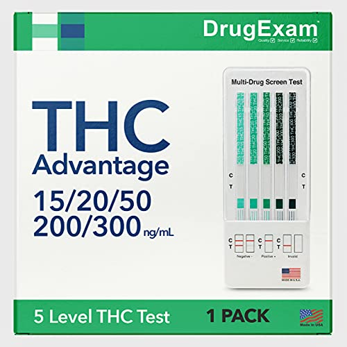 1 Pack - DrugExam THC Advantage Made in USA Multi Level...