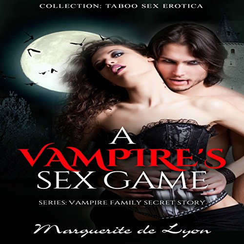 A Vampire's Sex Game audiobook cover art