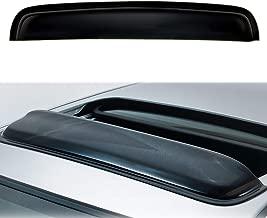Auto Ventshade 94557 Original Ventvisor Side Window Deflector Dark Smoke 4-Piece Set for 2016-2018 Honda Pilot