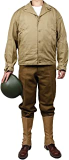 ZWJPW WW2 U.S.Army D-Day M41 Field Jacket S/S only Winter Jacket and m37 Woolen Pants