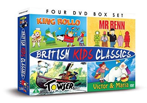 British Kids Classics: Mr Benn/King Rollo/Towser/Victor And Maria [DVD] [UK Import]