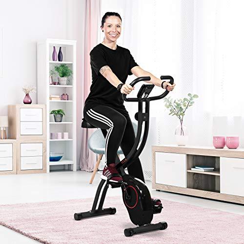 Ergometer Heimtrainer X-Bike: Klappbar & günstig Bild 3*