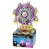 オルゴール オルゴール レトロ 音楽ボックス 装飾 DIY 結婚式 誕生日 プレゼント ミュージックボックス LCLJP (Color : AM402, Size : フリー)
