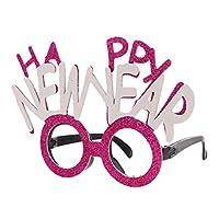 HAPPY NEW YEAR メガネ 新年パーティー ニューイヤーパーティー 目新しい アクセサリー