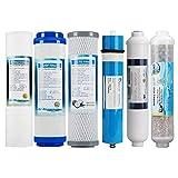 Filtros cartuchos de recambio Universal 10 Pulgada para casa purificador de Agua de ósmosis inversa(1-6 Etapa)