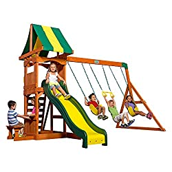 top rated Swing Backyard Discovery Weston All Cedarwood Playset 2021