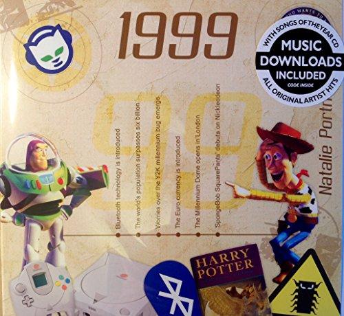 18. Geburtstag oder Jahrestag Geschenke ~ Hit Music Of 1999 und Grußkarte; A Time To Remember, die klassische Jahren 1999