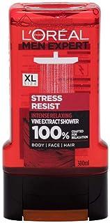 LOREAL Men Shower Gel Stress Resist, 300 ml