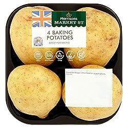 Morrisons Market St 4 Baking Potatoes