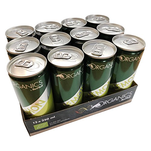 Red Bull Organics Bitter Lemon (12x0,25l Dosen)