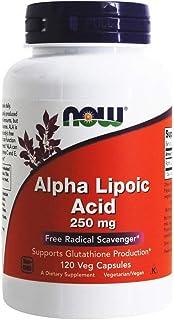 NOW FOODS Alpha Lipoic Acid 250mg Capsules, 120 CT