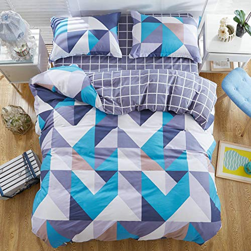 DACHANGTUI Flower Pattern Luxury Bedclothes Pure Cotton Set Bedding Sets Twin/Full/Queen/King Size 3 / 4pcs Bed Sheet Duvet Cover Set
