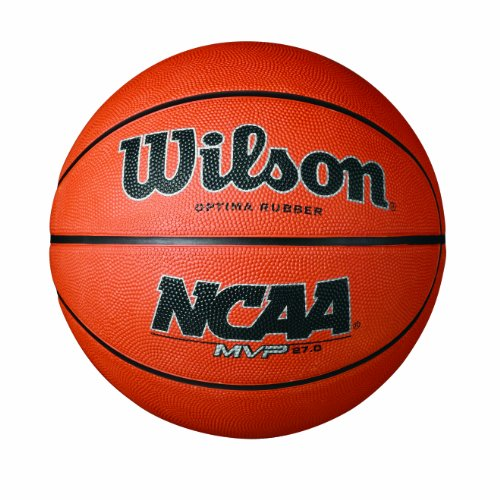 Discover Bargain Wilson NCAA MVP Rubber Basketball, Youth - 27.5