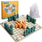 Wood Hnefatafl Viking Chess Board Game for...
