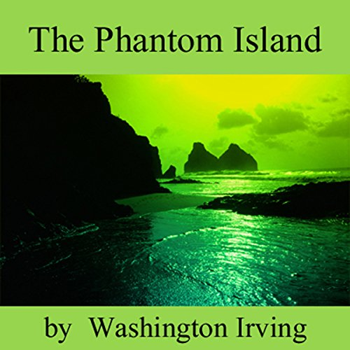 The Phantom Island  audiobook cover art