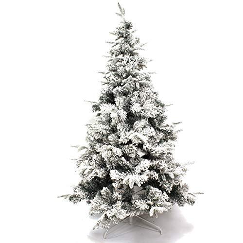 Arcoiris Árbol de Navidad Artificial Acebo, Natural Verde, Material PVC, Soporte deMetal...
