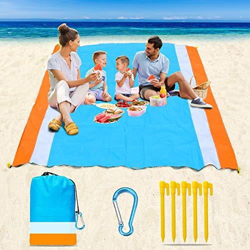 Naohiro Sand Free Beach Blanket,Ext…