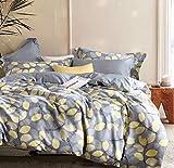 say Yes Bedding Lauren Queen/Full Comforter Set, Yellow and Gray