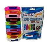 WINPOST 2 Pack Anti-Moustiques Bracelets, Toutes Les Bandes Naturelles, sans Deet et imperméables (Black)