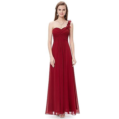 Ever-Pretty Mujer Vestidos Fiesta de Gasa para Ceremonia Coctel Partido Vestido Elegantes de Noche 09768