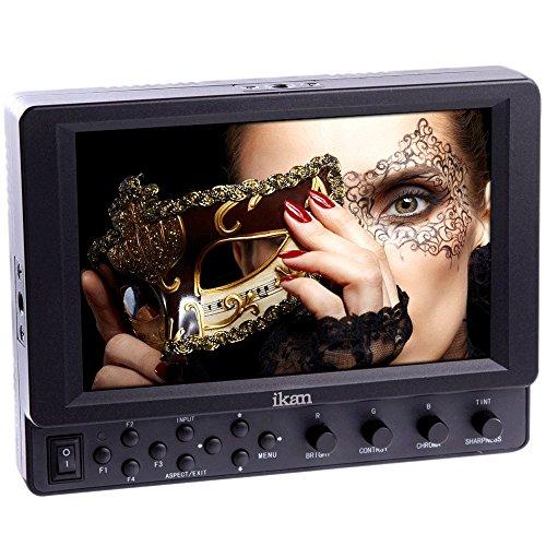 IKAN VK7i-2 LCD Monitor 17,8 cm (7 Zoll) mit IPS Panel für Kamera