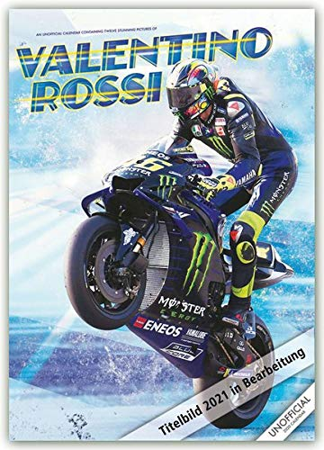 Valentino Rossi 2021 - A3 Format Posterkalender: Original RedStar - Carousel Kalender [Mehrsprachig] [Kalender] (A3-Posterkalender)