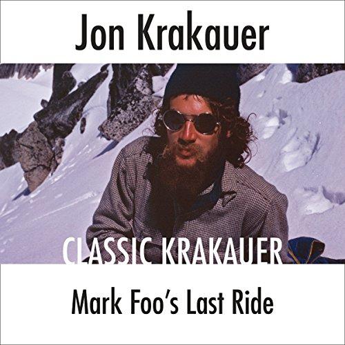 Mark Foo's Last Ride audiobook cover art