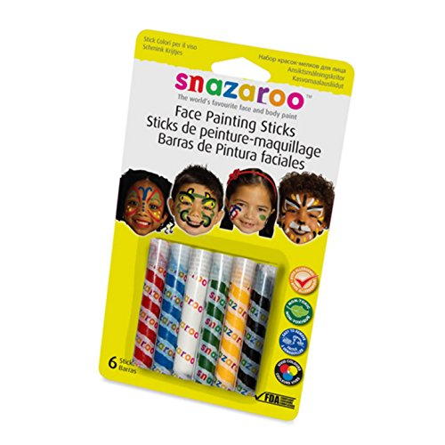 Generique - 6 Sticks Maquillage Mixte Snazaroo