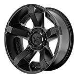 xd wheels 22 - XD SERIES BY KMC WHEELS XD811 ROCKSTAR II Matte Black Wheel Chromium (hexavalent compounds) (18 x 9. inches /5 x 87 mm, 0 mm Offset)