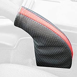 Black Alcantara-Blue Thread RedlineGoods ebrake Boot Compatible with Porsche Boxster 1997-04