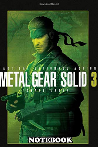 Notebook: Gear Solid 3 Stealth , Journal for Writing, College Ruled Size 6