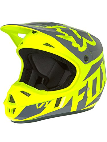 Fox Kids Helm V1 Race Gelb Gr. L