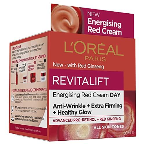 L'Oreal Paris Revitalift Energising Red Cream Day 50ml