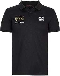 2019 F1 Team Polo Black