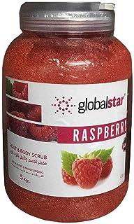 Global Star Body Wash and Scrub, Raspberry, 5000 ml