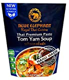 Blue Elephant brand Royal Thai Cuisine TOM YAM SOUP PASTE Wt. 70 g. // BENJAWAN shop