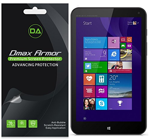 Dmax Armor [3-Pack] for HP Stream 7 Screen Protector High Definition Clear Shield -  5736351