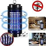 99native Elektrischer Insektenvernichter lampe, UV Insektenvernichter Mückenlampe Wandhalterung Tragbare Insektenlampe gegen Mücken, Fliegen
