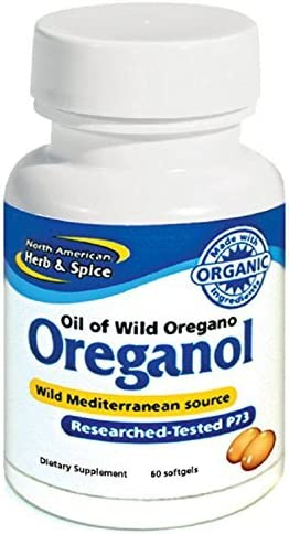 North American Herb and Spice, Oreganol P73 Gel-Capsules, 60-Count product image