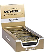 Barebells Salty Peanut Protein Bar, High Protein and Low Carb Bar, 12 x 55g (1,94 oz) Low Sugar Snack Protein Bar with 20g protein