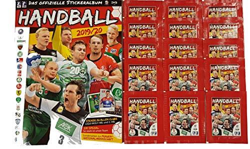 Victus Blue Ocean Handball Sticker Saison 2019/20 Stickeralbum + 15 Stickertüten