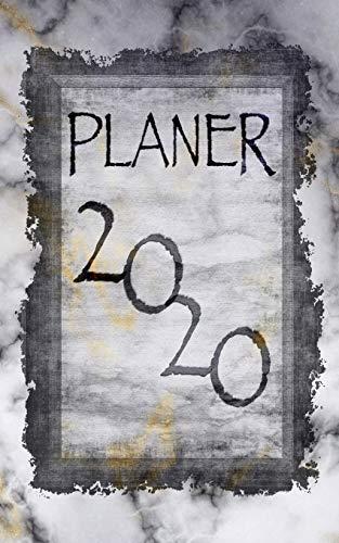 Planer 2020: Wochenplaner für das Kalenderjahr 2020 I jeder Tag bietet viel Platz für Notizen und Termine I ToDo-Liste I Terminkalender I ... x 20 cm I Design: Marmor IV (German Edition)