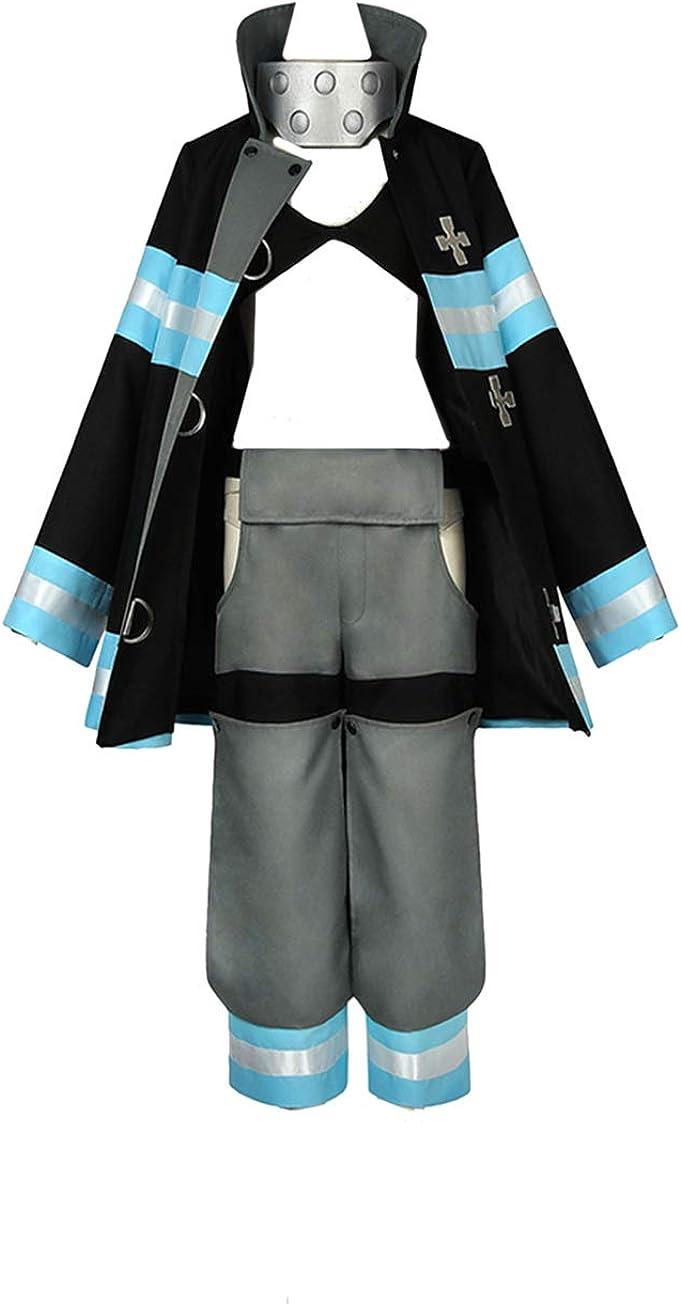 Indianapolis Mall WOSHOW Anime Fire Force Kotatsu costume Halloween Latest item Tamaki cosplay