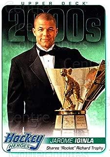 (CI) Jarome Iginla, Rocket Richard Trophy Hockey Card 2014-15 Upper Deck Hockey Heroes 77 Jarome Iginla, Rocket Richard Trophy