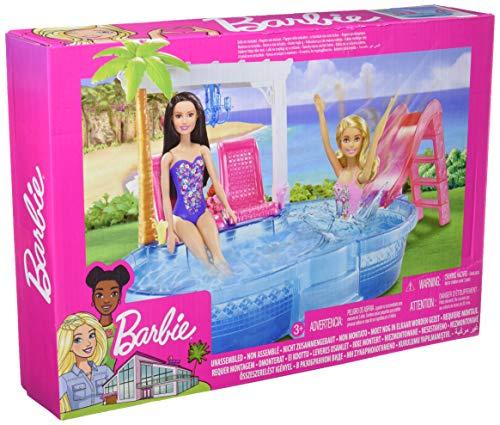 Barbie DGW22 - Glam Pool, Multicolore