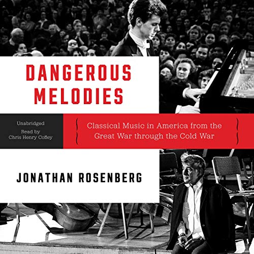 Dangerous Melodies audiobook cover art